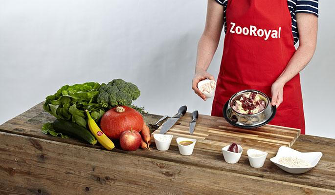 BARF Rezept Fruchtige Pute: Schritt 4